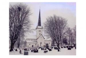 ringsaker kirke vinter