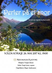 Volda Kyrkje 26.mai 2017