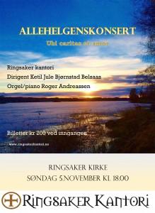 LITEN Plakat til allehelgenskonsert 2017