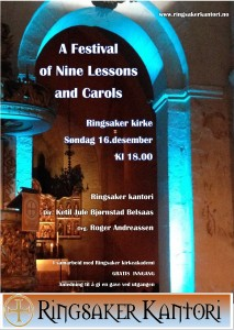 Plakat Nine Lessons 2018